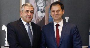 Δηλώσεις μετά τη συνάντηση του Γενικού Γραμματέα του Παγκόσμιου Οργανισμού Τουρισμού κ. Zurab Pololikashvili και του Υπουργού Τουρισμού κ. Χάρη Θεοχάρη