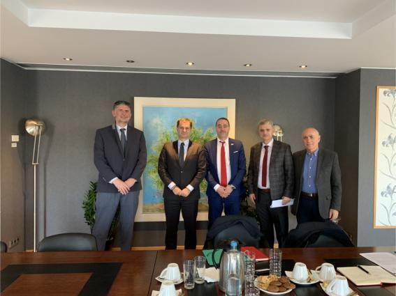 Συνάντηση Υπουργού Τουρισμού με τη διοίκηση της «HellasCert»