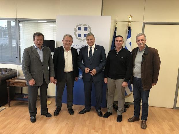 Συνάντηση με τον Περιφερειάρχη Αττικής Γιώργο Πατούλη είχε αντιπροσωπεία του Δήμου Σαρωνικού με επικεφαλής τον Δήμαρχο Πέτρο Φιλίππου