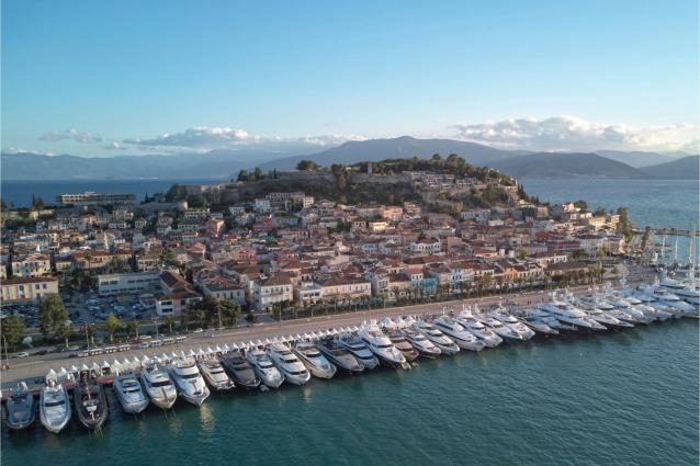 The Mediterranean Yacht Show returns to the port of Nafplion for the 7th consecutive year from the 2nd to the 6th of May 2020
