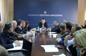 Μέτρα για την αντιμετώπιση της πανδημίας του κορονοϊού ανακοίνωσε ο Περιφερειάρχης Κεντρικής Μακεδονίας Απόστολος Τζιτζικώστας