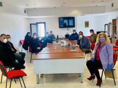 Συνεδρίαση Συντονιστικού Τοπικού Οργάνου Πολιτικής Προστασίας του Δήμου Μυκόνου για την εντατικοποίηση των μέτρων για την πανδημία