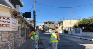 Ενημέρωση για το πρόγραμμα απολυμάνσεων του Δήμου Σαρωνικού