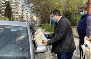 Η Περιφέρεια Κεντρικής Μακεδονίας διένειμε υγειονομικό υλικό και είδη ατομικής προστασίας σε 3.000 ιδιώτες γιατρούς της Θεσσαλονίκης