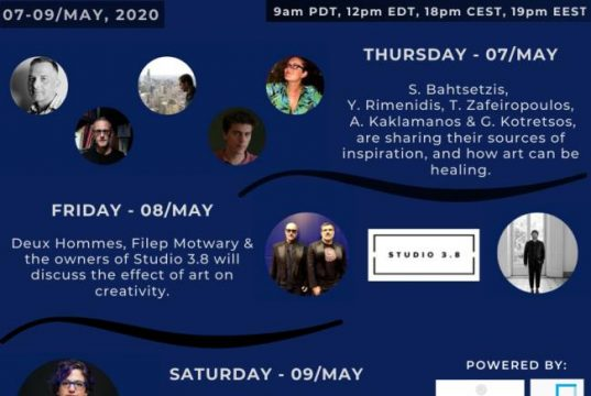 """Virtual Art Retreat """"ART IS HEALING"""" virtual sessions from May 7th to 9th, 2020"""