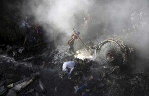 PIA passenger plane crashes in Karachi