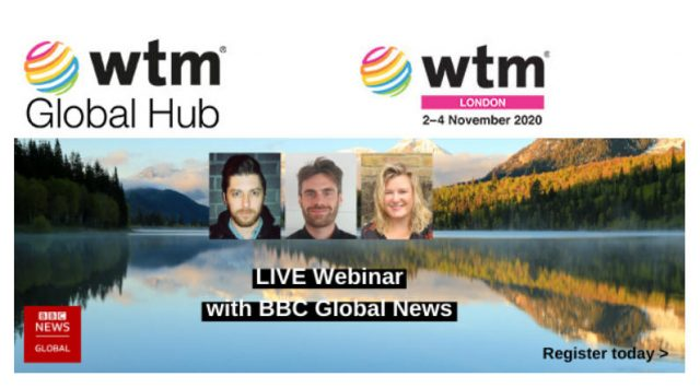 Next week is Sustainable Tourism Week - two incredible webinars for you to enjoy next week