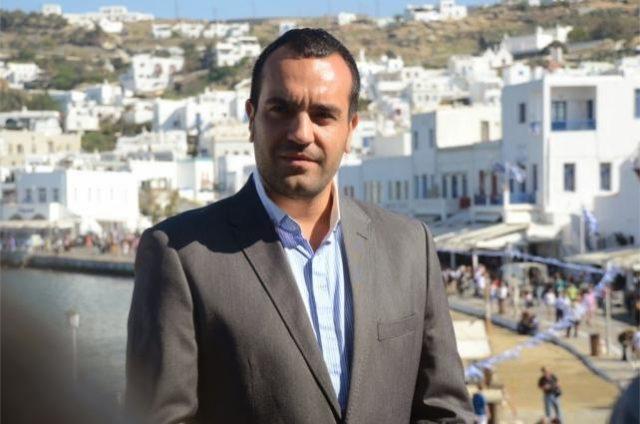 Δήμαρχος Μυκόνου Κωνσταντίνος Κουκάς