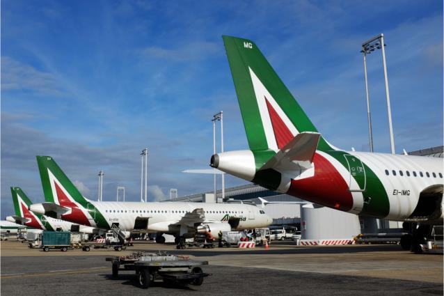Alitalia: από σήμερα επανέρχονται οι πτήσεις από Αθήνα για Ρώμη