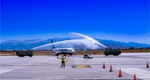 RYANAIR CELEBRATES RESUME OF OPERATIONS IN CHANIA