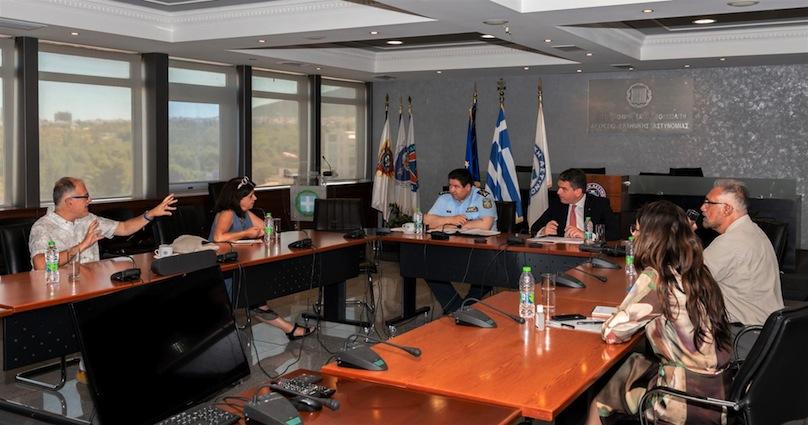 Ευρεία σύσκεψη στο Υπουργείο Προστασίας του Πολίτη για την αντιμετώπιση του φαινομένου των παράνομων ξεναγήσεων