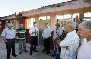 Επίσκεψη του Υπουργού Τουρισμού κ. Χάρη Θεοχάρη στα Παλαιά Σφαγεία του Δήμου Μοσχάτου - Ταύρου
