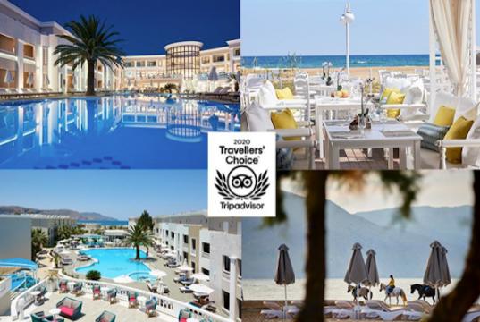 Βράβευση από την TripAdvisor για το Mythos Palace Resort & Spa