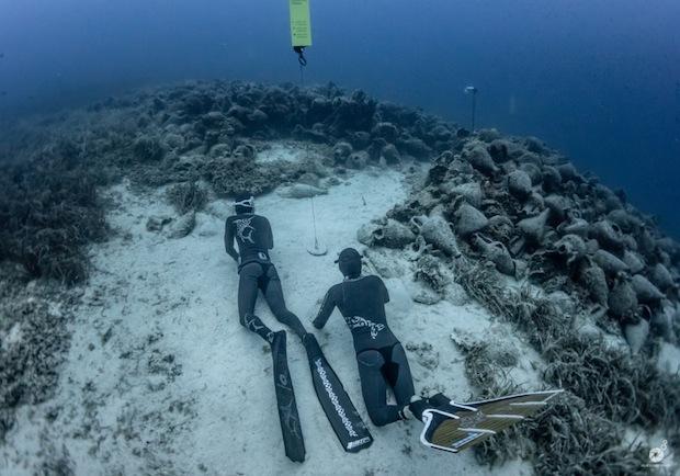 Βουτιά στο παρελθόν με μια ανάσα! Ελεύθερη κατάδυση στο αρχαίο ναυάγιο της Περιστέρας Αλοννήσου