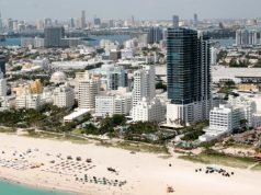 Florida tourism Miami beach