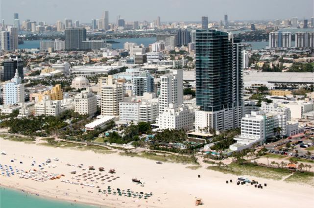 Florida tourism Miami beach