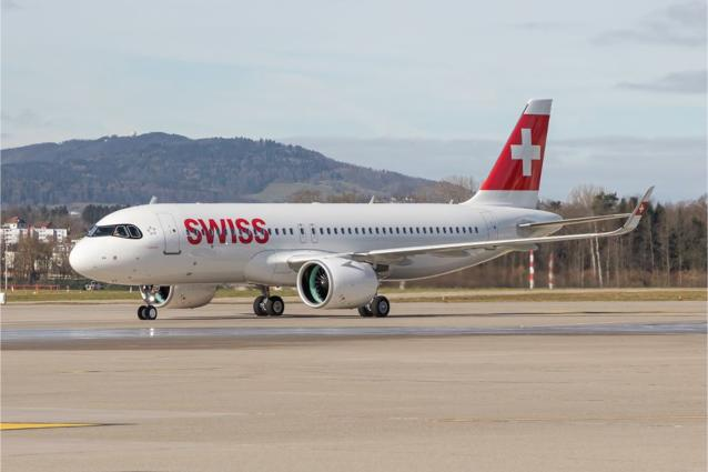 SWISS A320 neo