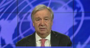 UN Secretary-General, António Guterres