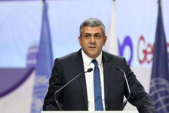 UNWTO Secretary-General, Zurab Pololikashvili