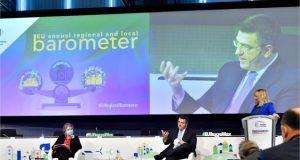 Κοινή συνέντευξη τύπου του Απόστολου Τζιτζικώστα και της Ευρωπαίας Επιτρόπου Elisa Ferreira