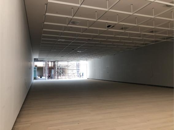 Στην τελική ευθεία οι εργασίες στο κτήριο της Εθνικής Πινακοθήκης
