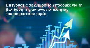 Επενδύσεις σε Δημόσιες Υποδομές για τη βελτίωση της ανταγωνιστικότητας του τουριστικού τομέα