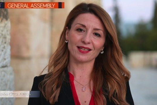 Μια Ελληνίδα στο Δ.Σ. της IAPCO, Σίσσυ Λιγνού