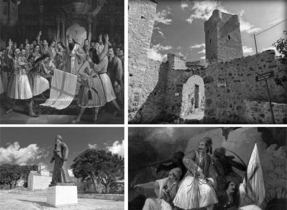 Οι δρομείς θα διασχίσουν ιστορικά μέρη και μνημεία της Μεσσηνίας, που σχετίζονται με την Ελληνική Επανάσταση του 1821 (photo by Run Messinia)