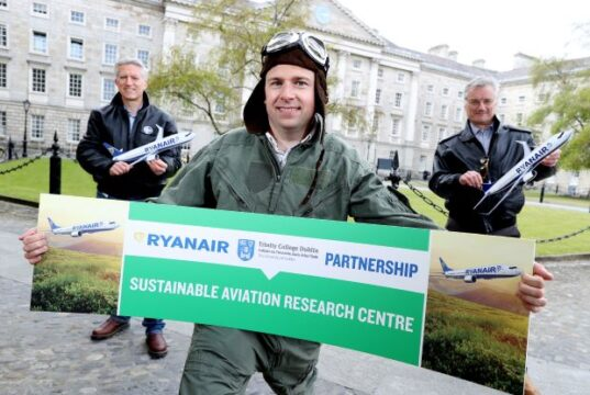 RYANAIR & TRINITY COLLEGE LAUNCH SAF CENTRE