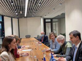 Συνάντηση του Υπουργού Τουρισμού κ. Χάρη Θεοχάρη με την επικεφαλής του Ομοσπονδιακού Οργανισμού Τουρισμού της Ρωσίας κυρία Zarina Doguzova