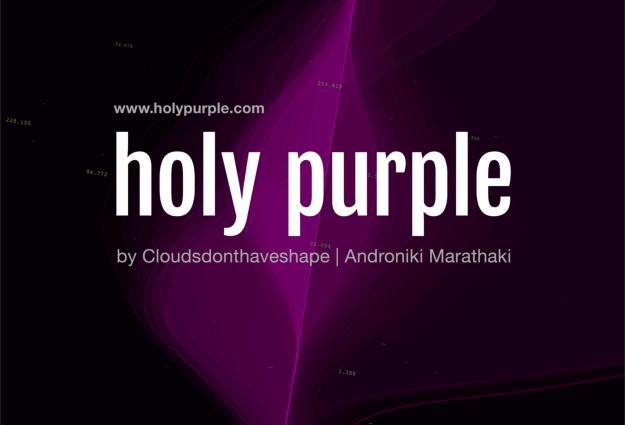 holy purple