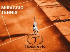 To Miraggio ανακοινώνει τη συνεργασία του με την Ακαδημία Τένις Tipsarevic