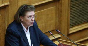 Λίνα Μενδώνη στη Βουλή