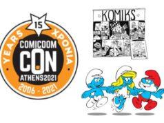 Comicdom CON Athens 2021 - 10,11 & 12 Σεπτεμβρίου 2021