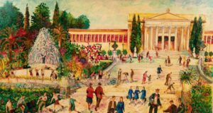 Νεώτερο μνημείο η λαϊκή τέχνη του Γιώργου Σαββάκη στις ταβέρνες της Πλάκας